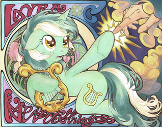 Lyra Heartstrings by Muffyn-Man