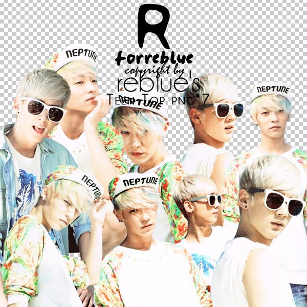 REBLUEs PNG Teen Top Set 01 7P by l0vehcl