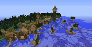 Minecraft My View: [Port: Forward Village]