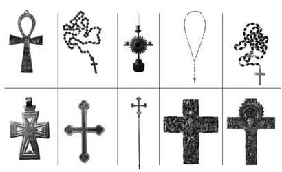 Crosses brush