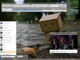 Transparent Mac osX-windows 7 by evilhiryu