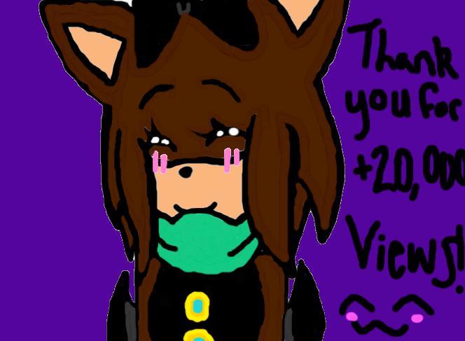 Thank You For 20000 Views! by Kaylatheicebat