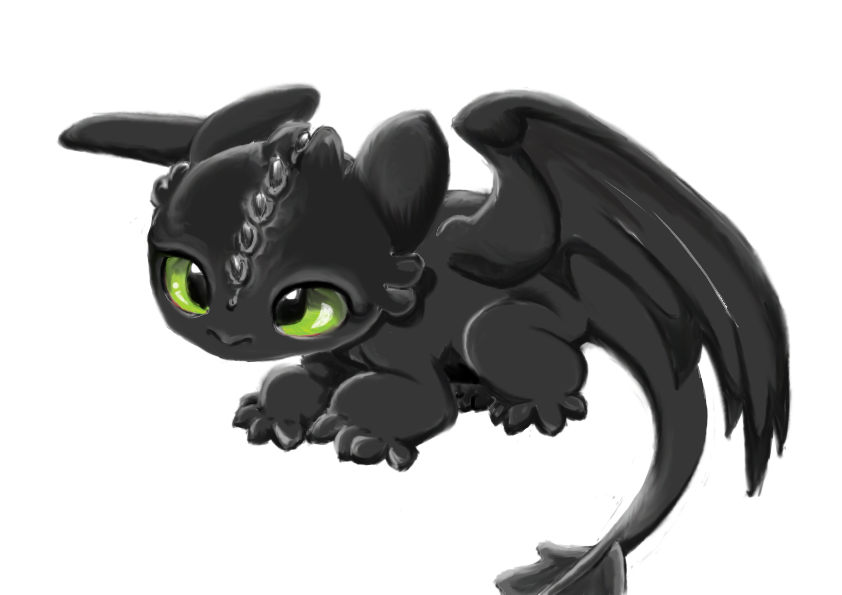 Baby Toothless Wip By Starrynight359 On Deviantart