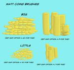 Matt's Coins Collection for Manga Studio 5
