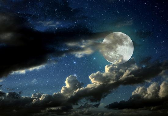 moon and stars - HD4000×2667
