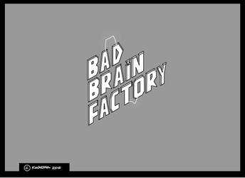 BAD BRAIN FACTORY logo animation by mariankiller