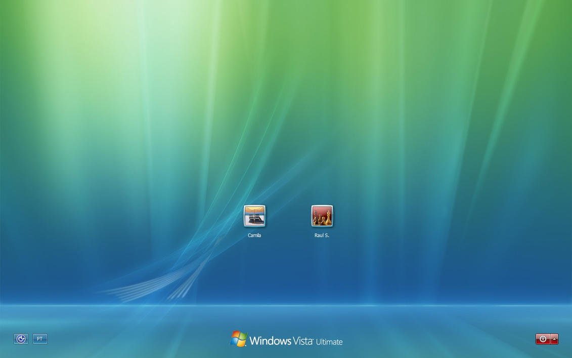 Windows Vista Default Login 11 by RaulWindows