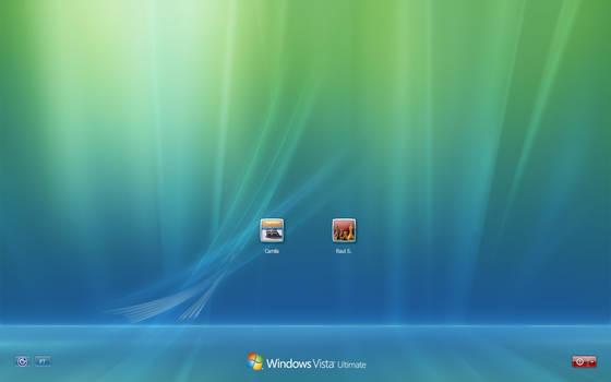 Windows Vista Default Login 11