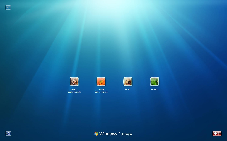 Windows 7 Default Login 4.0.1 by RaulWindows