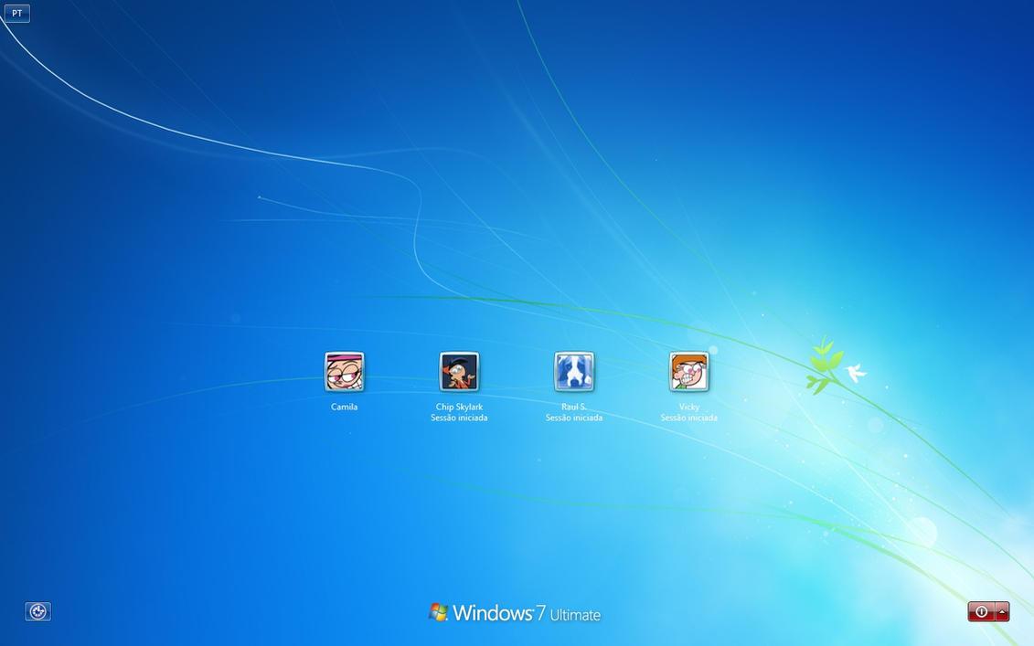 Windows 7 Default Login 5 by RaulWindows