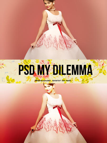 PSD My Dilemma by iaminthelalaland