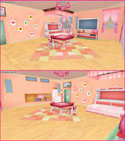 Project Diva F 2nd: Girl's Room