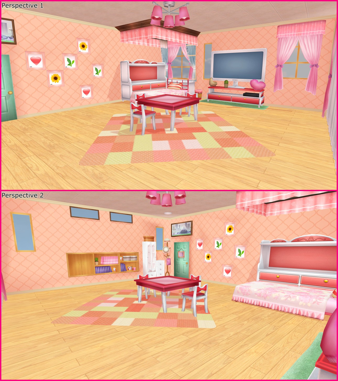 Project Diva Girls Room Mmd