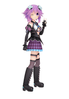 Neptunia Virtual Stars MMD model pack v1.0.0.0.0.1