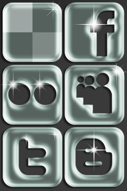 Social Network Icon Set 3 by Lucifer666mantus