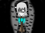 {Mysterytale} in darkness (Contest entey) by solar-chan2003