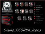 Skulls REGRIM Icon Pack 7tsp