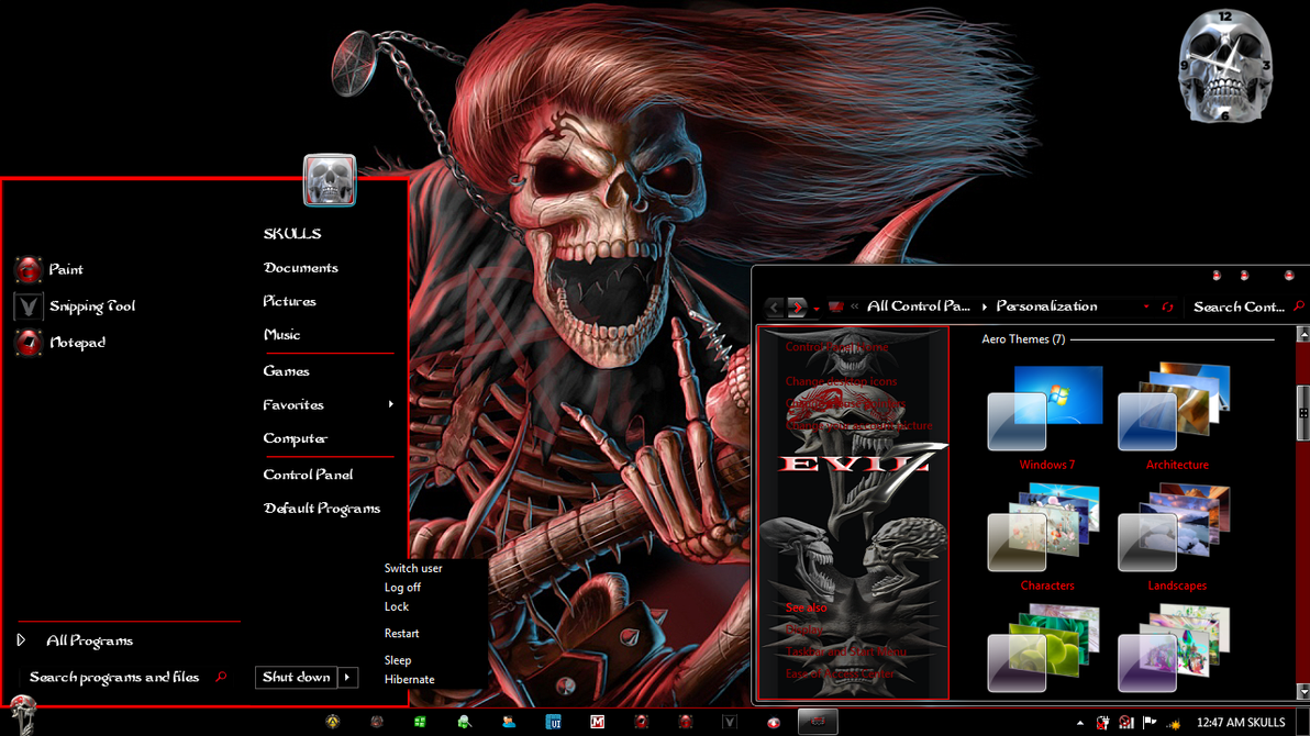 Evil 7 by skullsart101
