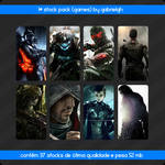 1 stock pack games by gabrielgh
