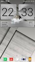 Sense 6 Aluminum Clock Zooper Widget v1.0.1
