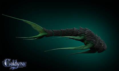 Caldyra Male Skyworm by Kirinov