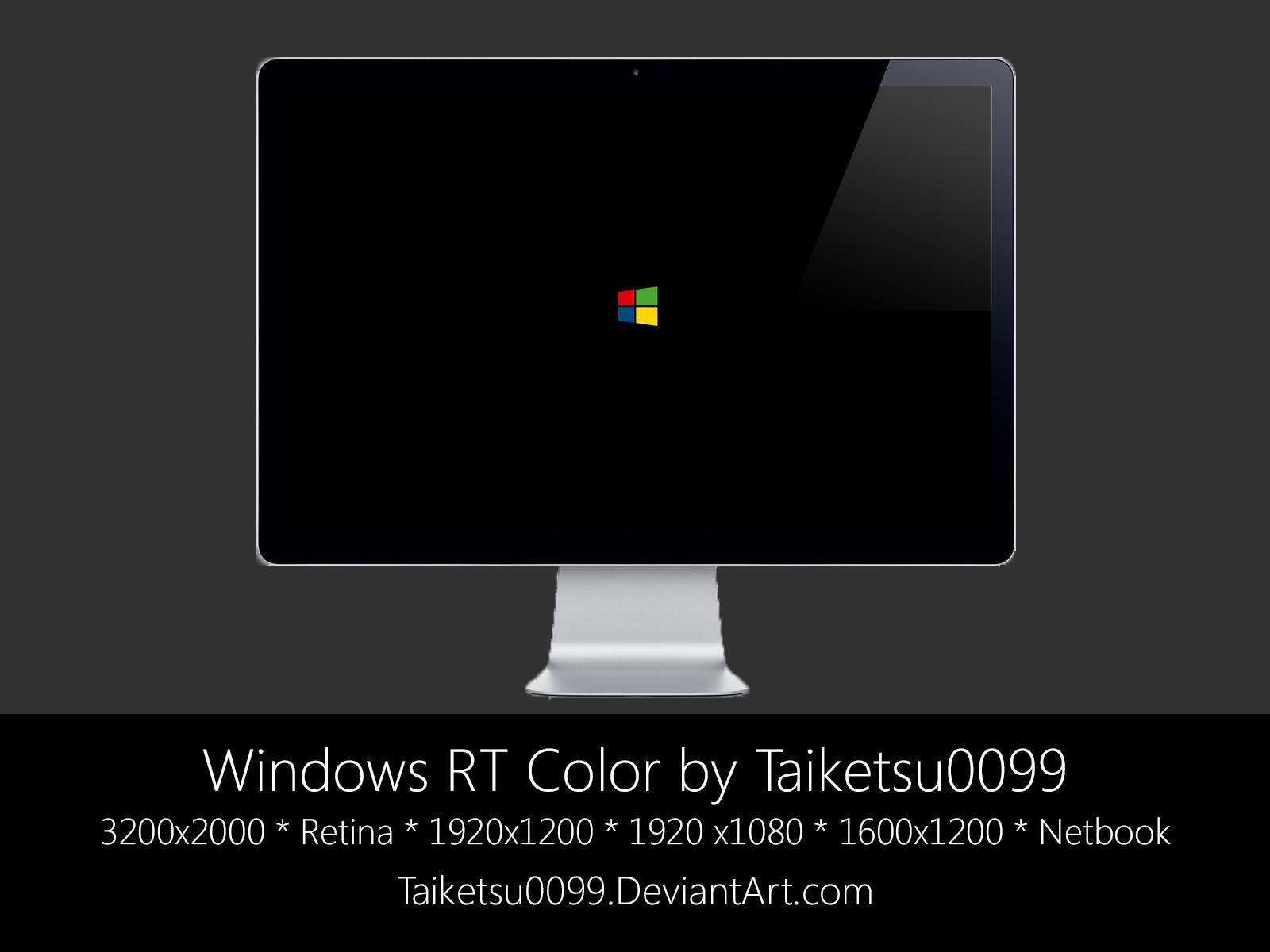 Windows RT Color by Taiketsu0099 by Taiketsu0099