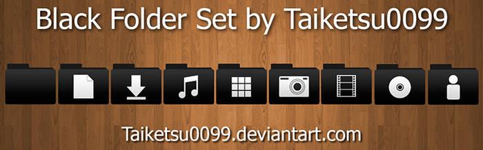 Black Folder Set By Taiketsu0099