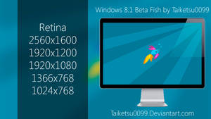 Windows 8.1 Beta Fish by Taiketsu0099