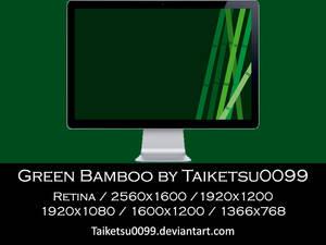 Green Bamboo by Taiketsu0099