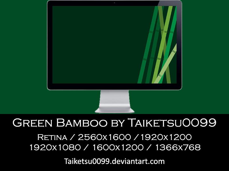 Green Bamboo by Taiketsu0099 by Taiketsu0099