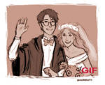 James and Lily's Wedding by IzziBelle