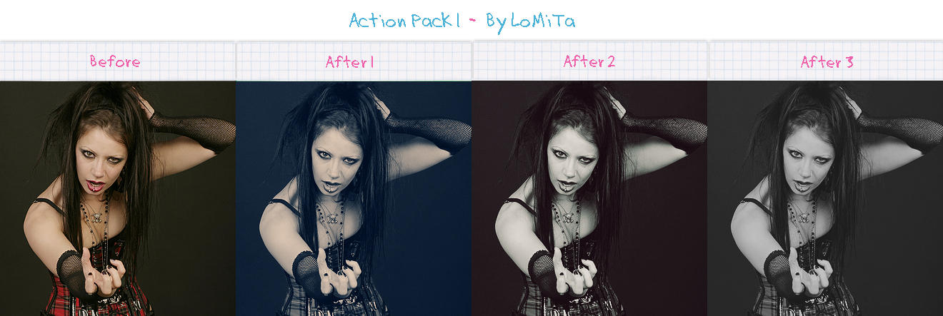 Action Pack 1 - Free by LoMiTa