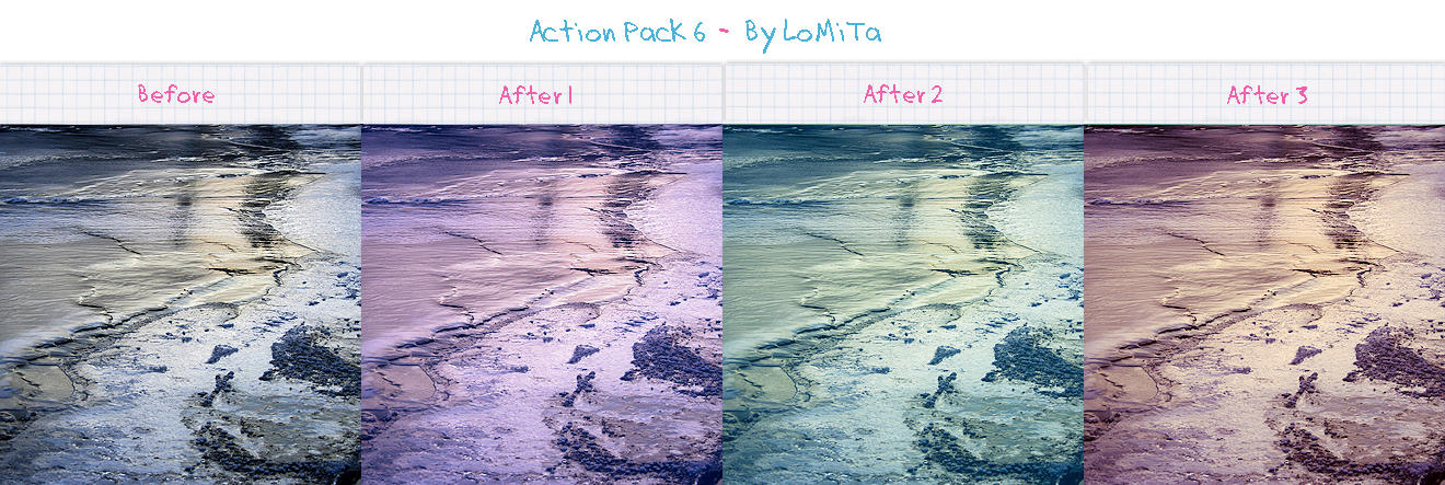 Action Pack 6 - Free by LoMiTa
