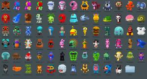 Icons of toys Hiroshi Yoshii