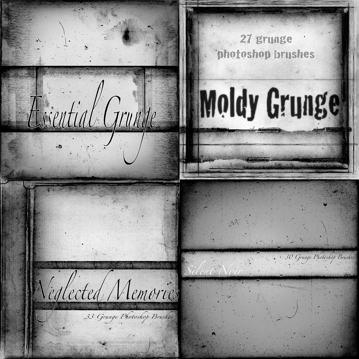New Grunge Brush Sampler by asunder