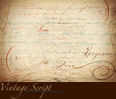 Vintage Script Brush Sampler