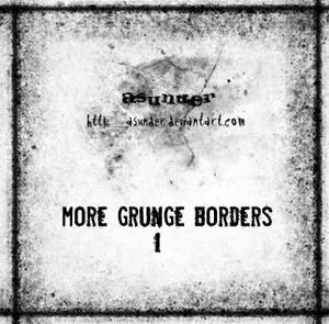 More grunge borders - 1