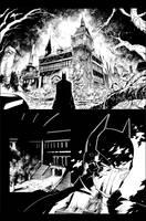 Batman AK issue 2 page 10 by aethibert