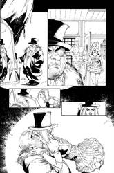 Batman AK issue 6  page 10 by aethibert