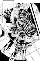 Batman Arkham Annual Page 11 by aethibert