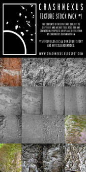 CRASHNEXUS Texture Stock Pack 1