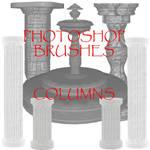 Photoshop CS - Column Brushes