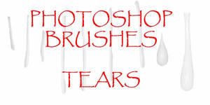 Photoshop CS - Tear Brushes