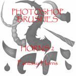 Photoshop CS - Horn set 2