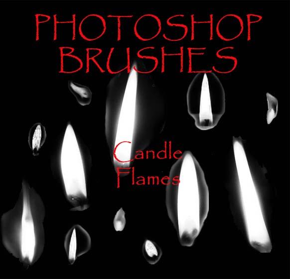 Photoshop CS - Flame Brushes by firebug-stock on DeviantArt