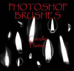 Photoshop CS - Flame Brushes by firebug-stock
