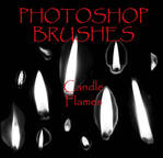 Photoshop CS - Flame Brushes
