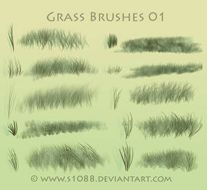 Free PS Grass Brushes
