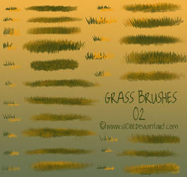 Free PS Grass Brushes 2