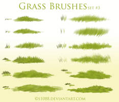 Pay to Use: Grass Brushes #3 by s1088
